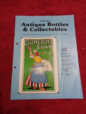 Collectable/australian Bottle Magazine Abc Vol. One No.3 December-January 1990-1