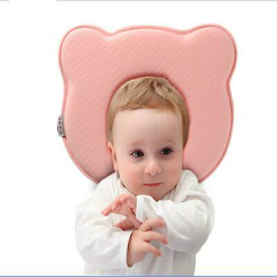 Baby Kids Anti Roll Pillow Memory Prevent Flat Head Support Neck Pillows New LA