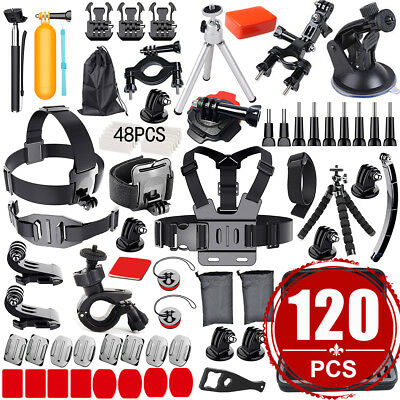 Camera GoPro Accessories Kit Action Camera Mount Full Accessory set Bundle Sport