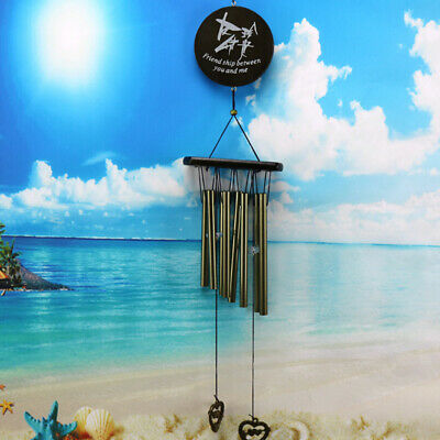 Amazing Antique Bronze Bells Wind Chimes Yard Garden Outdoor Decor