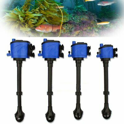 3-in-1 Aquarium Fish Tank Powerhead Wave Maker Purifier Filter Oxygen Water Pump