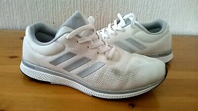 ADIDAS MANA BOUNCE 2 M Aramis Men's White Silver Trainers Size 8 UK 42 EU