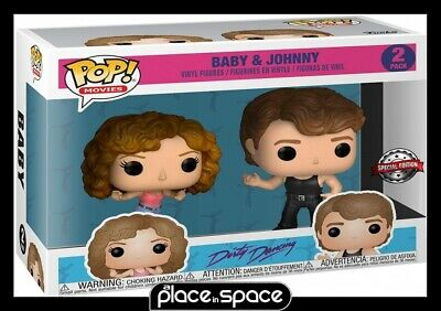Dirty Dancing - Baby & Johnny Funko Pop! Vinyl Figure 2 Pack