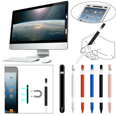 Magnetic Sleeve Soft Silicone Holder Grip Set For Apple Pencil Magnetic Sleeve