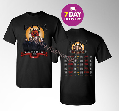 Kiss 'End of the Road' Farewell Tour Dates 2019 Mens T-shirt S-3XL.