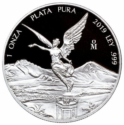 2019 Mo Mexico Silver Libertad Proof 1 Coin GEM Proof PRESALE SKU57364