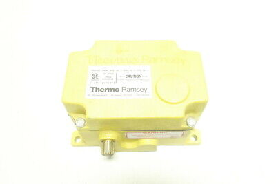 Thermo Scientific SPS-2D-3-Y Ramsey Pro-line Safety Cable Pull Switch 250v-ac