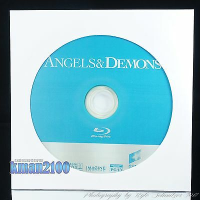Angels & Demons (Blu-ray, 2009) BLU-RAY DISC ONLY...CASE & ARTWORK NOT INCLUDED