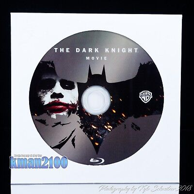 The Dark Knight (Blu-ray, 2008) BLU-RAY DISC ONLY...CASE & ARTWORK NOT INCLUDED