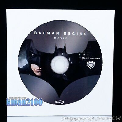 Batman Begins (Blu-ray, 2008) BLU-RAY DISC ONLY...CASE & ARTWORK NOT INCLUDED