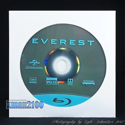 Everest (Blu-ray, 2016) BLU-RAY DISC ONLY...CASE & ARTWORK NOT INCLUDED!!!