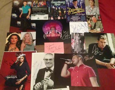 Music Autograph Collection 2 - 15 Genuine Hand Signed Items