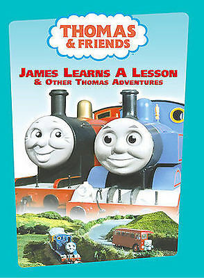 Thomas And Friends James Learns A Lesson (Dvd, 2005) New