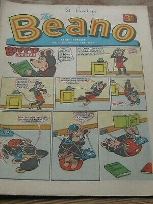 THE BEANO No . 1336 FEBRUARY 24th 1968.