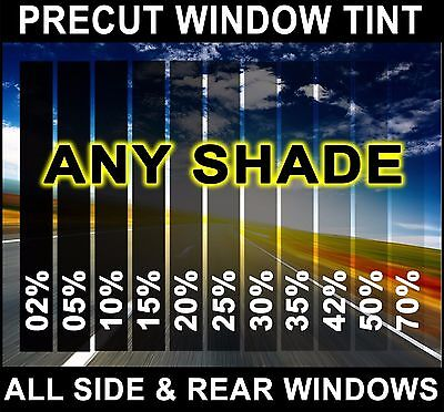 PreCut All Sides & Rears Window Film Any Tint Shade VLT Cut for Cadillac Glass