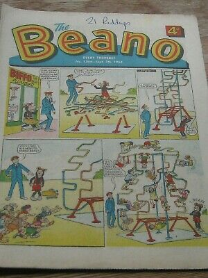 THE BEANO. No 1364 Sept 7th 1968.