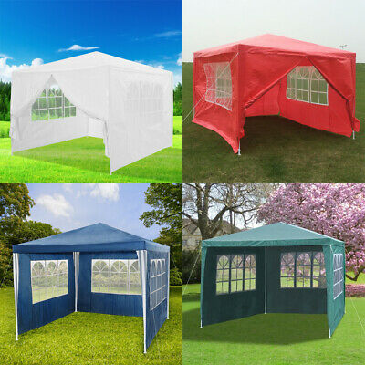 Panana 3 x 3m Waterproof Garden Outdoor PE Gazebo Marquee Canopy Party Tent New