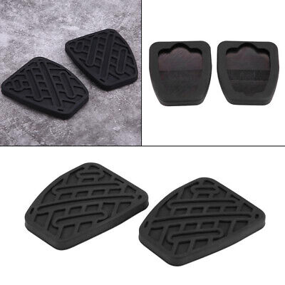 1 Pair Brake Clutch Pedal Rubber Cover Non-slip Pad For Nissan Qashqai 2007-2016