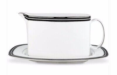 Lenox Kate Spade NY Gravy Boat/Underplate ~ Union Street ~ Excellent Condition