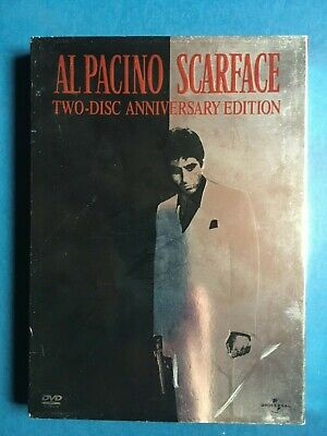 Al Pacino Scarface (DVD, Full Screen Anniversary Edition) two disk (B4)