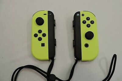 Nintendo Joy-Con Wireless Controllers for Nintendo Switch - Neon Yellow - NEW ~!