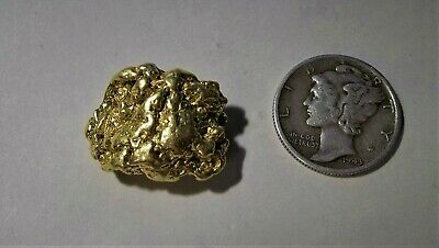 1 Gold Nugget from California, 12.723 Grams.