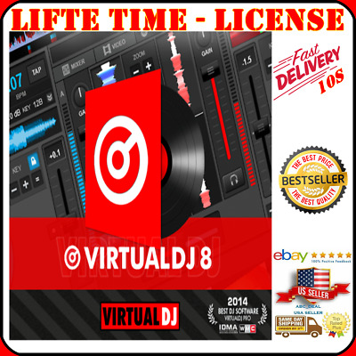 VIRTUAL DJ 8 2 Pro Infinity for Windows - FAST DELIVERY - Digital