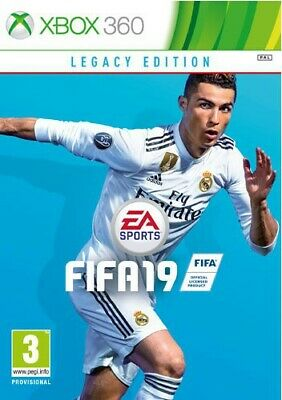 Microsoft Xbox 360 game - FIFA 19 #Legacy Edition NLD NEW & BOXED