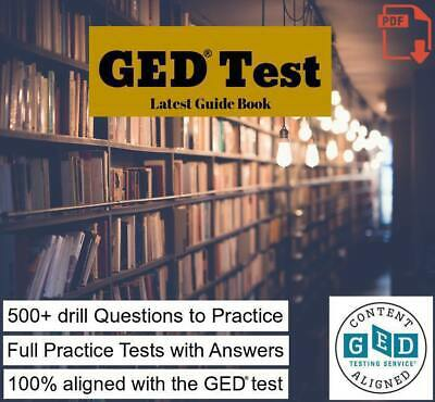 GED Test Guide Book 2019 with sample Questions & Full Practice Tests. PDF