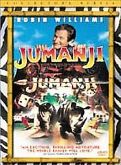 Jumanji Collectors Edition DVD NEW Robin Williams Bonnie Hunt Factory Sealed