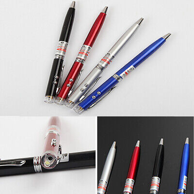Mini 3 in 1 Red Laser Pointer + LED Flashlight Lamp + Ballpoint Pen Super Power