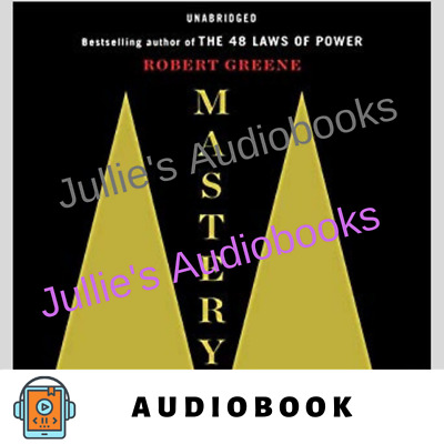AUDIOBOOK - Mastery by Robert Greene Digital Delivery