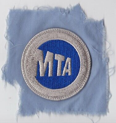 GENUINE EUC New York City MTA NYCTA Patch OBSOLETE NYC TRANSIT