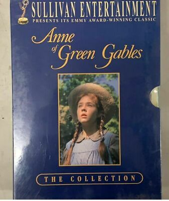 Anne of Green Gables Trilogy Box Set (DVD, 2005, 3-Disc Set) Complete Series NEW