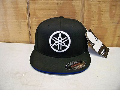 Factory Effex Official Licensed Yamaha Fork Flexfit Hat New with Tags Size S/M