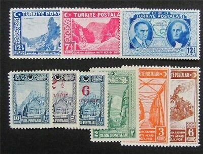 nystamps Turkey Stamp # 637//832 Mint OG H/NH $42