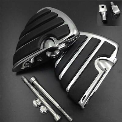 Front /'10-'14 Thunderbird Storm Chrome FootPeg For 04-14 Triumph Rocket Ⅲ Front