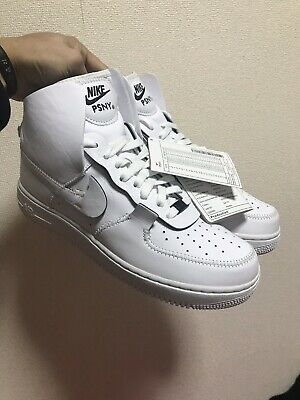 Details about Nike Air Force 1 High PSNY Size 12 Public School New York White Black AO9292 101