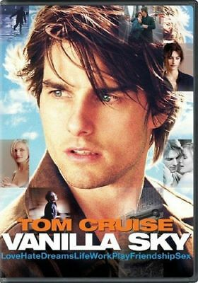 Vanilla Sky (DVD, 2002) Tom Cruise COMPLETE WITH ART/CASE/DISC