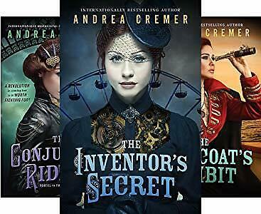 The Inventor's Secret Audiobooks 1-3 By Andrea Cremer