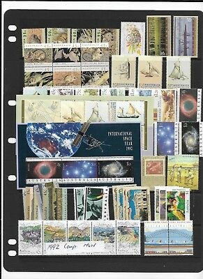 1992 MNH Jaargang/ year collection, Australia