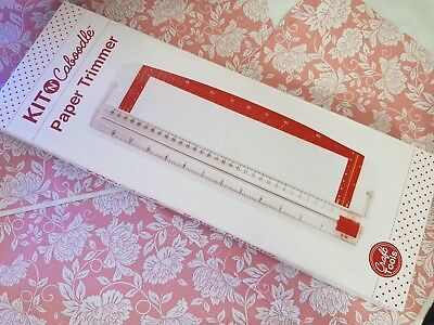 "KIT 'N' CABOODLE Paper Trimmer (12"") - Paper Craft Photo Guillotine *BRAND NEW*"