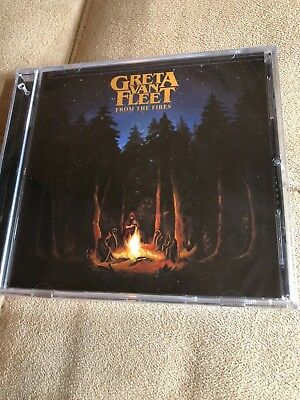 From the Fires by Greta Van Fleet (CD, Nov-2017, Republic) BRAND NEW SEALED