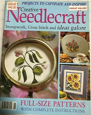 Vintage Creative Embroidery Needlecraft Magazine