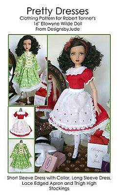 "Doll Clothes Sewing Pattern 22/"" American Model Dolls by Tonner Hollywood Ahoy"