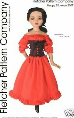 07 Halloween Convention Doll Clothes Sewing Pattern Ellowyne Wilde Tonner