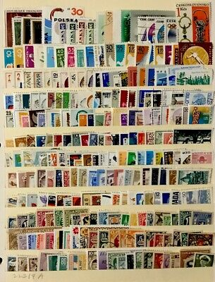 Worldwide Stamps  #240 All Different Before 1980 Lot 22319A