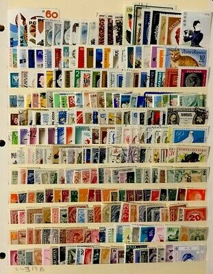 Worldwide Stamps  #240 All Different Before 1980 Lot 22319B