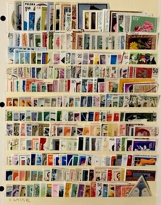 Worldwide Stamps  #240 All Different Before 1980 Lot 22319E