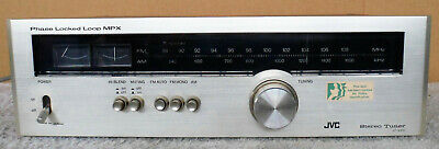 JVC  JT-V310  Phase Lock Looped MPX Stereo Tuner - Vintage Hi-End Audio